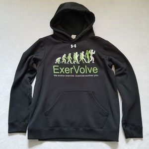 Under Armour Hoodie Exervolve graphic black M
